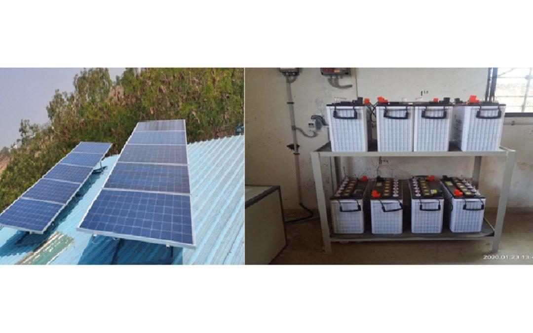 5 kVA solar hybrid inverter system