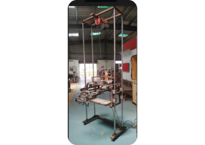 cement bag handling project