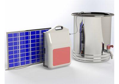 Solar UV Portable Water Filter